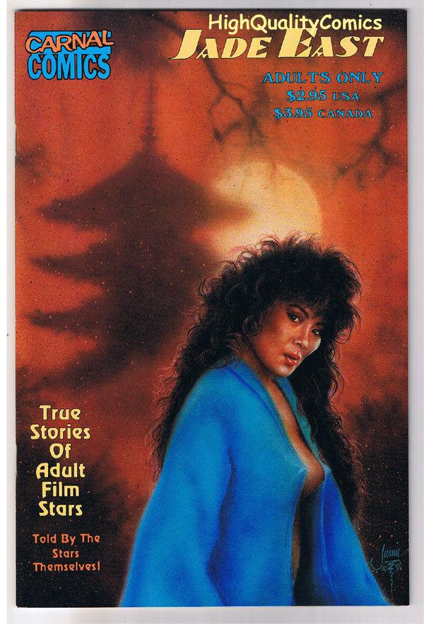 Carnal Comics : JADE EAST #1, VFN/NM, Porn Star,1996, more indies in store