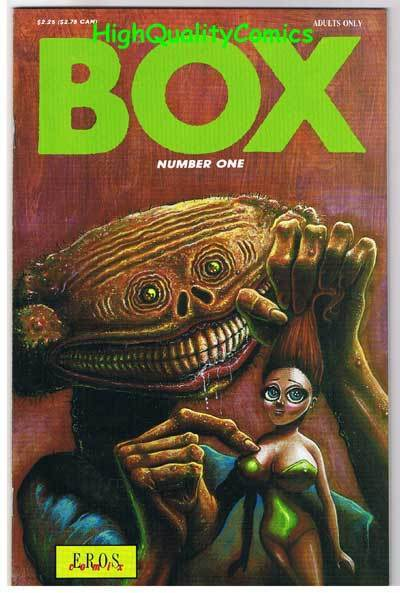 BOX #1, NM-, Adult, Nudity, Eros, 1991, more Adult in store