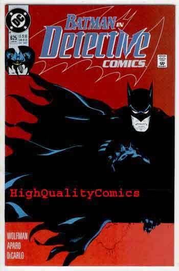 DETECTIVE #625, NM, Batman, Wolfman, Aparo, DeCarlo, more BM in store