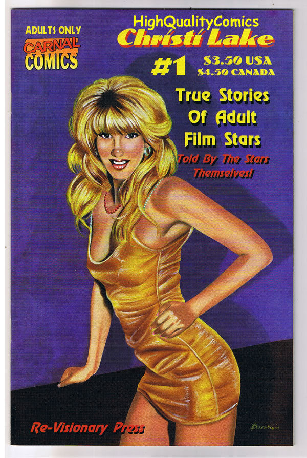 Carnal Comics : CHRISTI LAKE #1, NM-, Porn Star,  Adult Film star, 1998