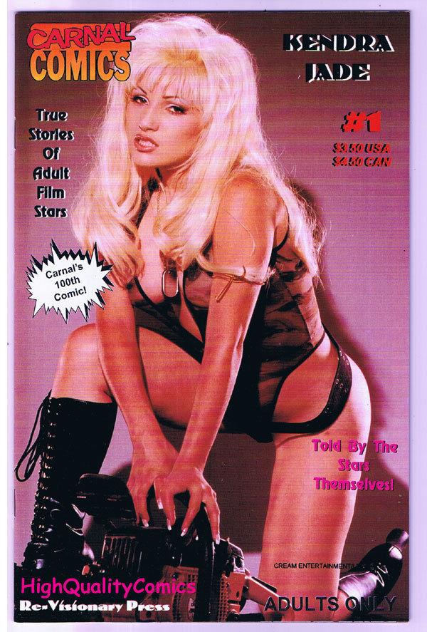 Carnal Comics : KENDRA JADE #1, Porn, Photo, 1999, NM-