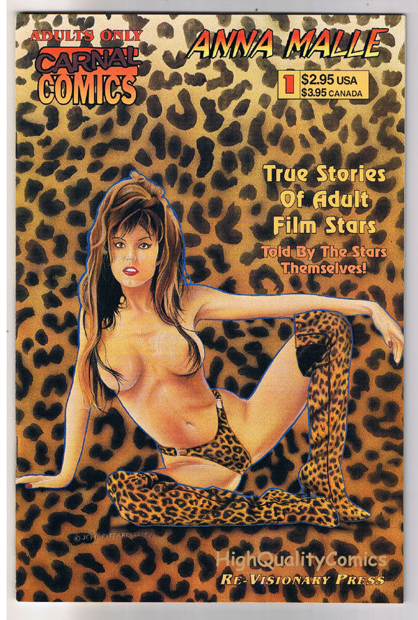 Carnal Comics : ANNE MALLE #1,Porn Star,Sex,1996,VFN/NM