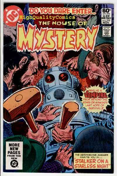 HOUSE of MYSTERY #298, NM-, Vampire, Alien, Horror, Robot, more in store