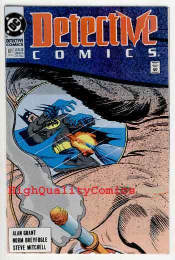 DETECTIVE #611, NM+, Batman, Alan Grant, 1989, Gotham City, more BM in store