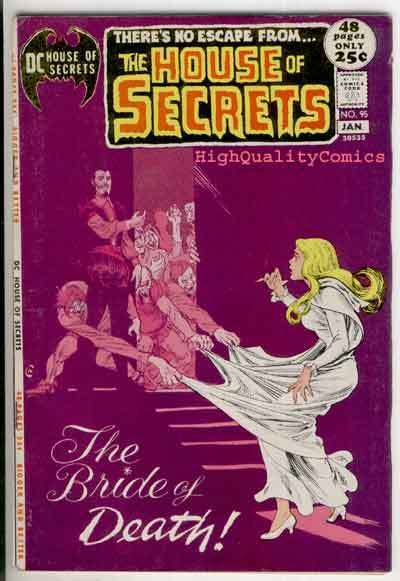 HOUSE of SECRETS #95, FN+, Redondo, Bride of Death, more in store