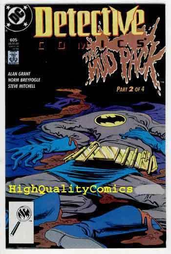 DETECTIVE #605, NM+, Batman, Alan Grant, 1989, Gotham City, more BM in store
