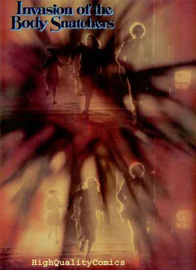 INVASION of the BODY SNATCHERS, NM, Progam book, 1978, Leonard Nimoy