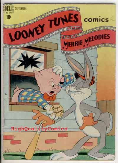 LOONEY TUNES #83, VG+, Bugs Bunny, 1948, Porky Pig, Elmer