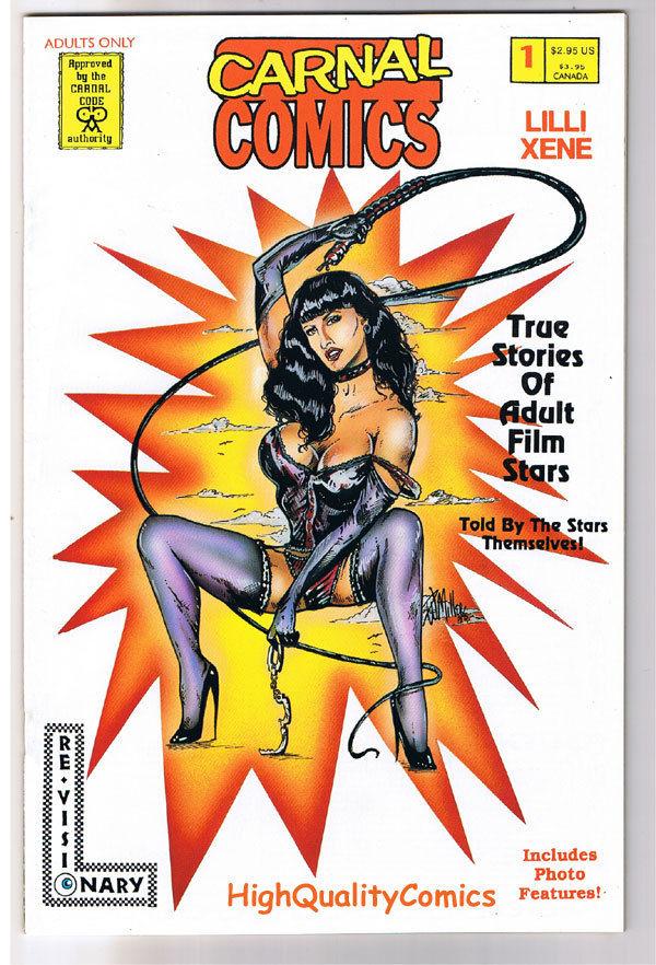 Carnal Comics : LILLI XENE #1, Porn Star, 1995, VFN/NM