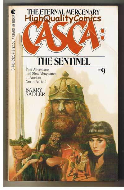 CASCA : THE SENTINEL pb, VG, Barry Sadler, 1983, 1st, more PB's in store