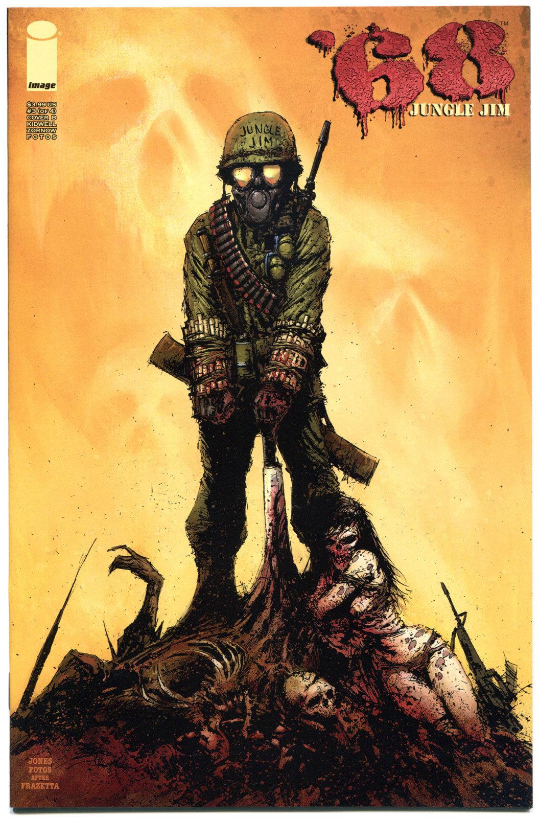 '68 JUNGLE JIM #3 B, NM,1st Print, Zombie, Walking Dead, Vietnam War,2013,Horror