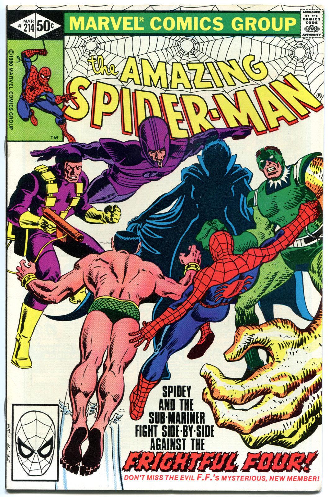 Amazing SPIDER-MAN #214, VF/NM, Sandman, Sub-Mariner,1963, more ASM in store