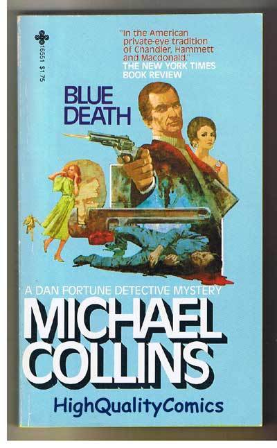 BLUE DEATH pb, VG, Michael Collins, 1979, 1st, more pb's in store