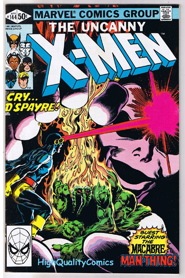 X-MEN 144, VF/NM, Uncanny, Man-Thing, Wolverine, 1963, more in store