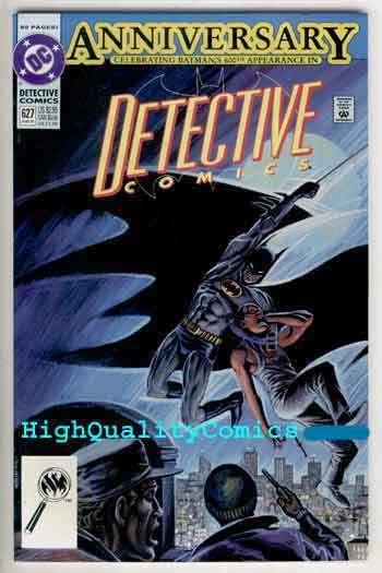 DETECTIVE #627, NM-, Batman, 1991, Anniversary issue, 84 pgs, more BM in store