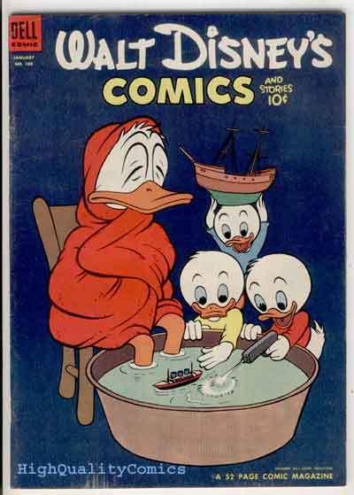 WALT DISNEY COMICS #160, FN, Mickey Mouse, Carl Barks, 1953, Donald Duck