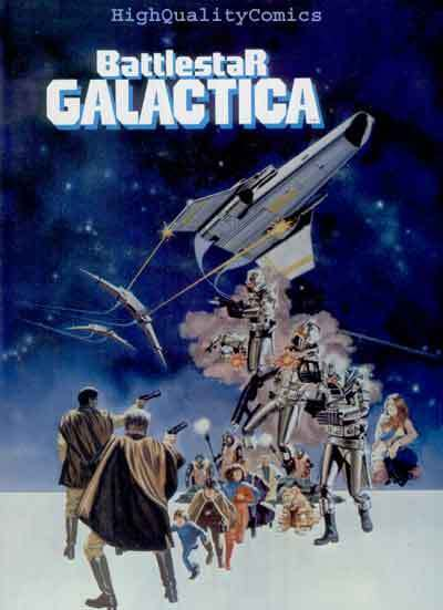 BATTLESTAR GALACTIC, Progam book,1979, NM, Lorne Greene, Richard Hatch, Sci-Fi