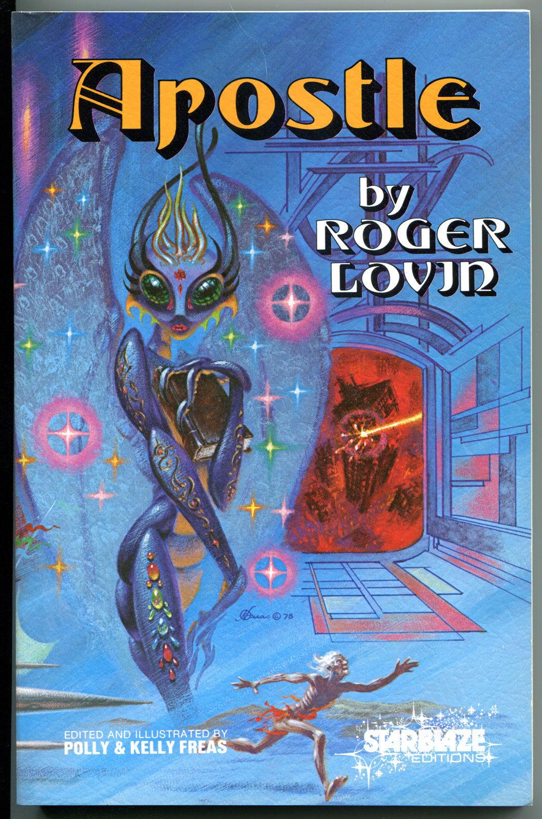 APOSTLE, SC/TPB, Roger Lovin, 1st, 1978, FN, unread, Freas, StarBlaze