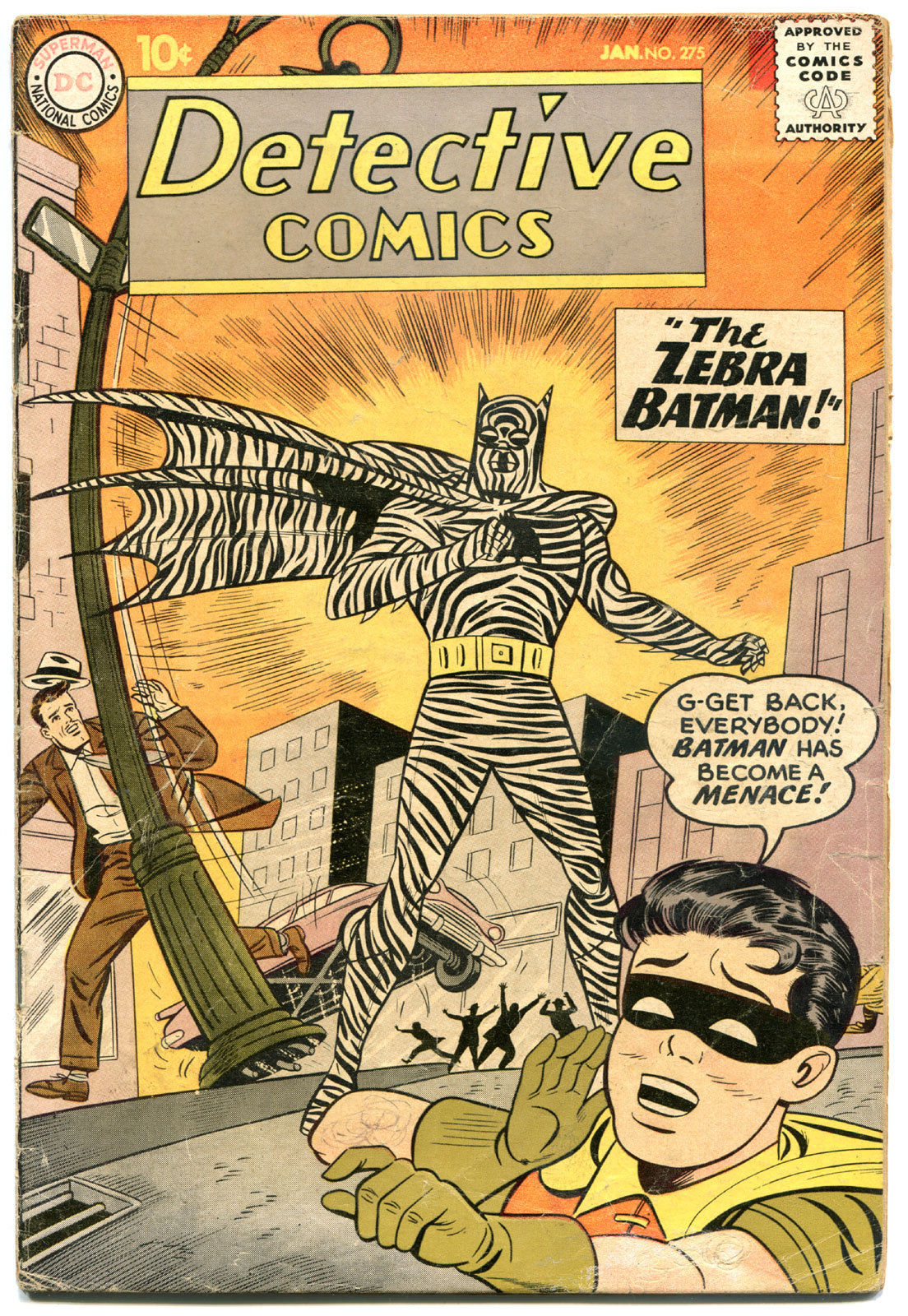 DETECTIVE COMICS #275, GD+, Bob Kane, Caped Crusader, 1937 1960, more in store