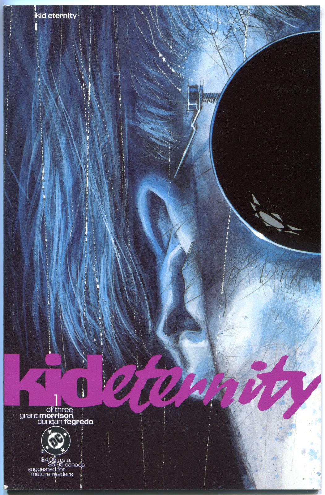 KID ETERNITY #1 2 3, NM, 3 issues,1991, Grant Morrison, Fegredo,more DC in store