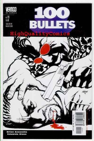 100 BULLETS #19, Brian Azzarello, Risso, Vertigo, NM/M