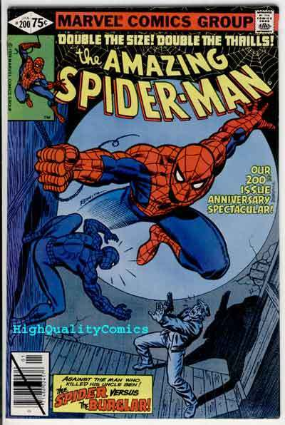 Amazing SPIDER-MAN #200, VF/NM, Origin, Marv Wolfman, 1963, Jim Mooney