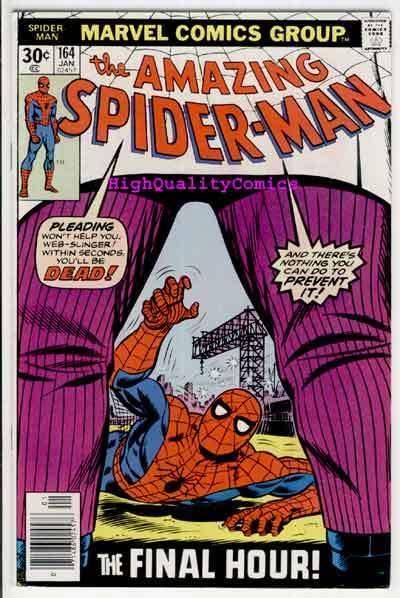 SPIDER-MAN #164, VF+. Kingpin, Ross Andru, Amazing, 1963, Len Wein