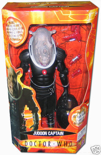 DOCTOR WHO action figure, JUDOON Captain 12