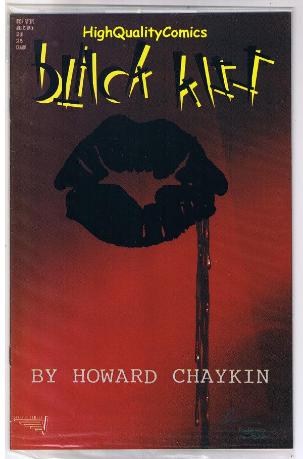 BLACK KISS #12, NM-, Howard Chaykin, Adult, 1st, Nudity, 1988, more in store