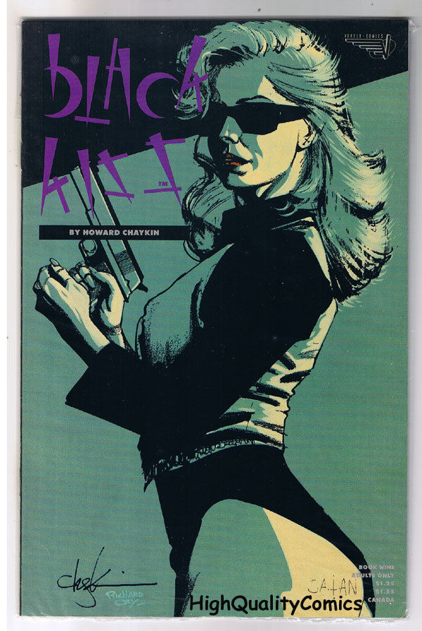 BLACK KISS #9, NM-, Howard Chaykin, Adult, 1st, Nudity, 1988, more in store