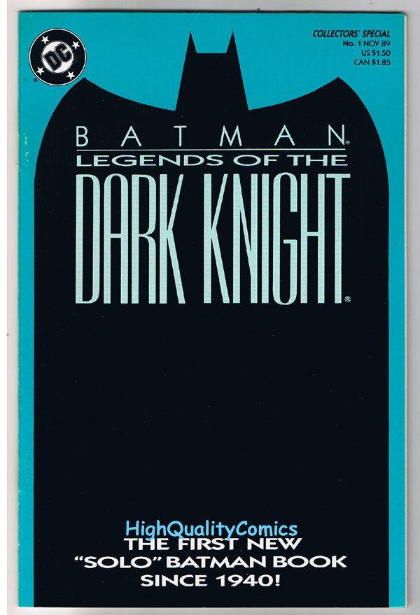 BATMAN: LEGENDS OF THE DARK KNIGHT #1, NM, Shaman, 1989, Hannigan, John Beatty