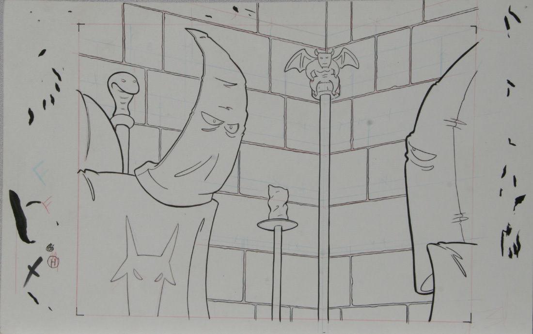 DOUGLAS PASZKIEWICZ original art, ARSENIC LULLABY pilot episode, 11