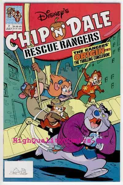CHIP 'N' DALE RESCUE RANGERS #2, NM+, Walt, 1st Disney, more in store