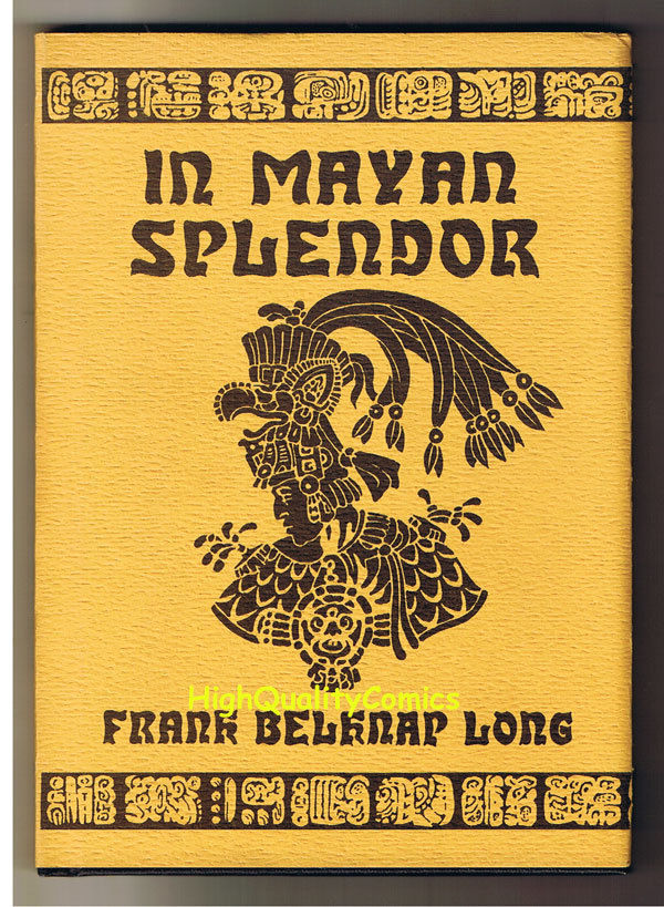 IN MAYAN SPLENDOR, Frank Long, Signed Stephen Fabian, 1st, 1977, As New