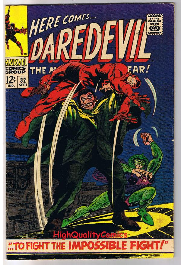 DAREDEVIL #32, VF, Gene Colan, Cobra, Stan Lee, 1964, more DD in store