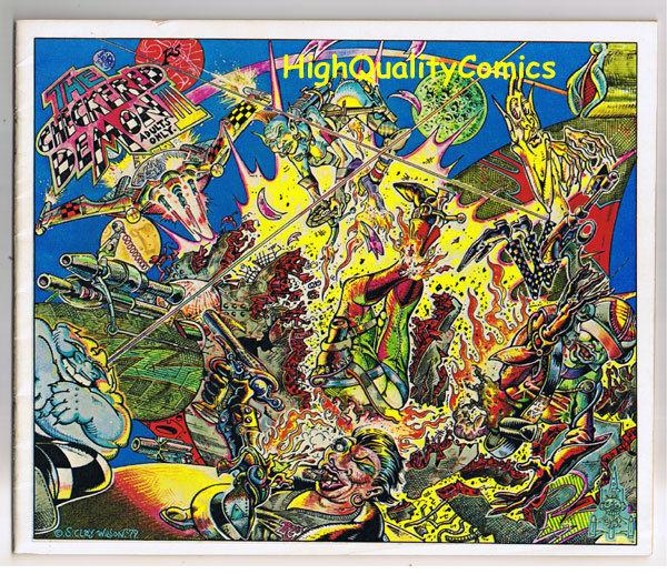 CHECKERED DEMON #3, FN, S Clay Wilson, Bikers, 1st, 1979, Underground. Horror