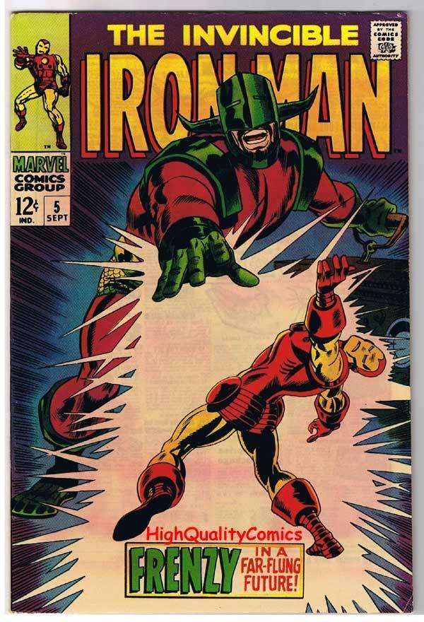 IRON MAN #5, VF, Tony Stark, Invincible, Movie,1968, (a), more IM in store