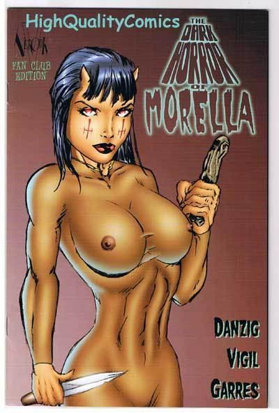 DARK HORROR of MORELLA FAN Club, NM-, Verotik, Danzig, 1999, more in store