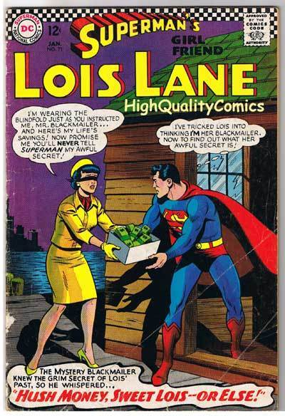 SUPERMAN'S GIRLFRIEND LOIS LANE 71, VG+, 2nd Catwoman, 1958, more CW in store