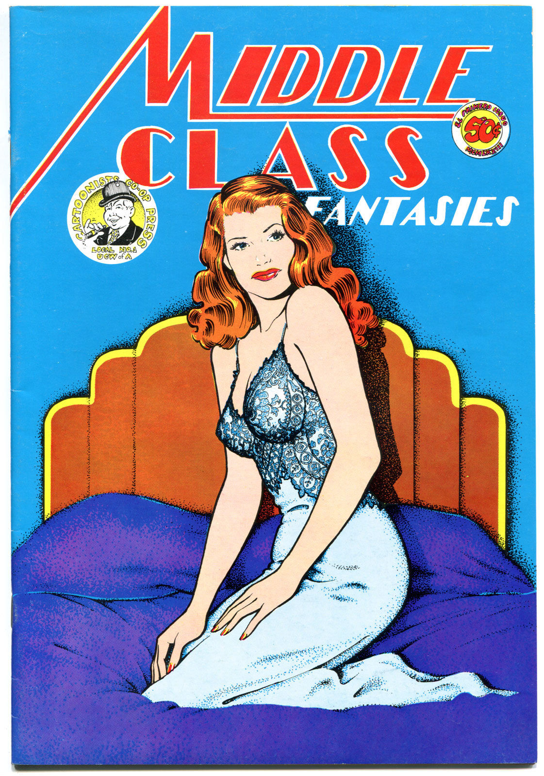 MIDDLE CLASS FANTASIES #1, FN , 1st, Underground, 1973, more UG in store