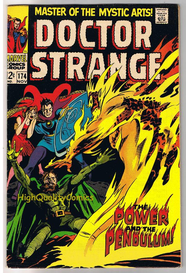 DOCTOR STRANGE #174, VF, Mystic Arts, Gene Colan, 1968, more DS in store