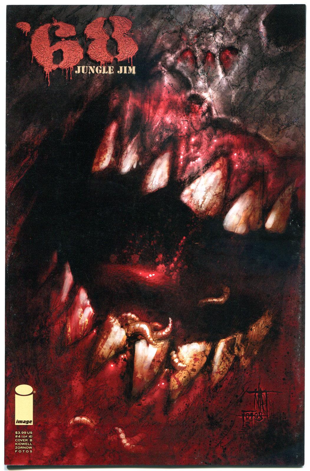 '68 JUNGLE JIM #4 B, VF+,1st Print, Zombie, Walking Dead, Vietnam, 2013, Horror