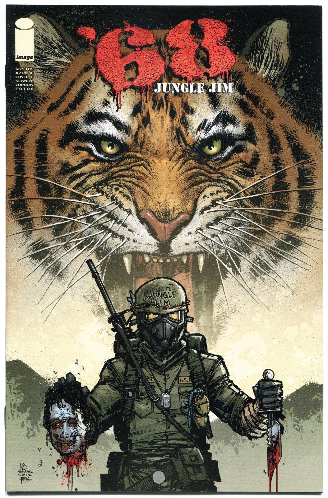 '68 JUNGLE JIM #2 B, VF+,1st Print, Zombie, Walking Dead, Vietnam, 2013, Horror