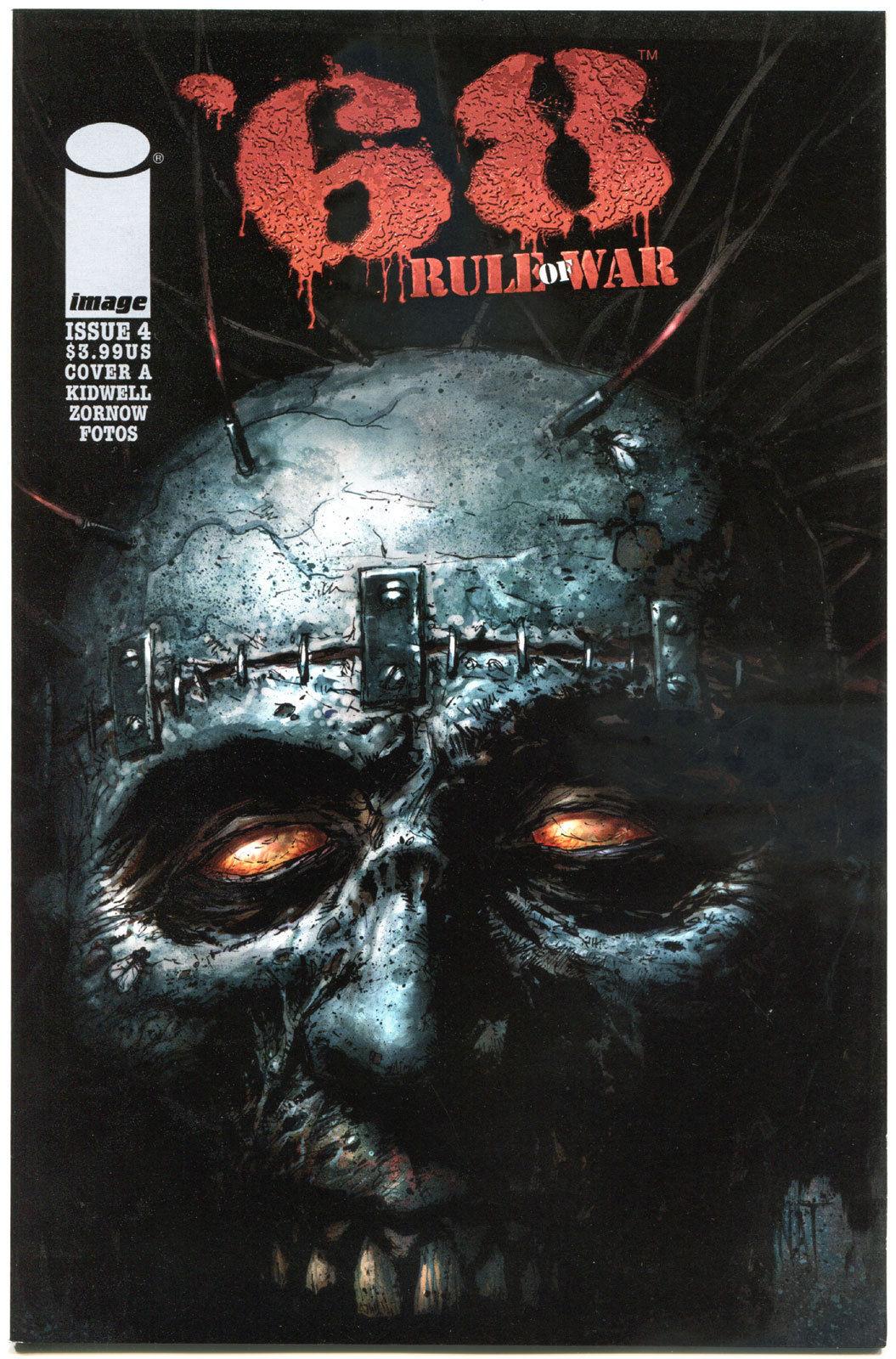 '68 RULE of WAR #4 A, VF+,1st Print, Zombie, Walking Dead, 2014, more in store