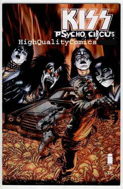 KISS PSYCHO CIRCUS 3, NM+, Rock 'n Roll, Gene Simmons, 1997, more in store