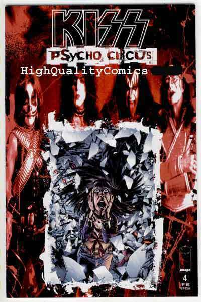 KISS PSYCHO CIRCUS #4, NM+, Rock 'n Roll, Gene Simmons, 1997, more in store