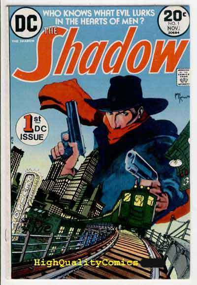 SHADOW #1, VF, Who knows what Evil lurks, 1973, Michael Kaluta, Doom Puzzle