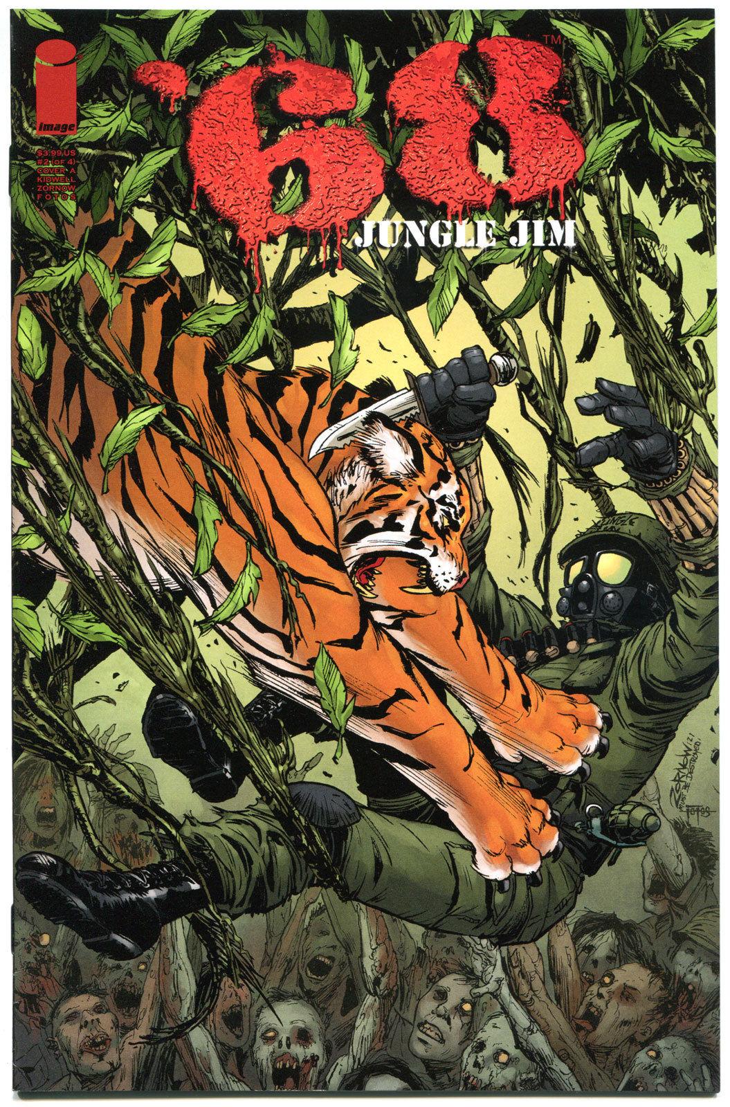 '68 JUNGLE JIM #2 A, VF+, 1st Print, Zombie, Walking Dead, Vietnam War, 2013