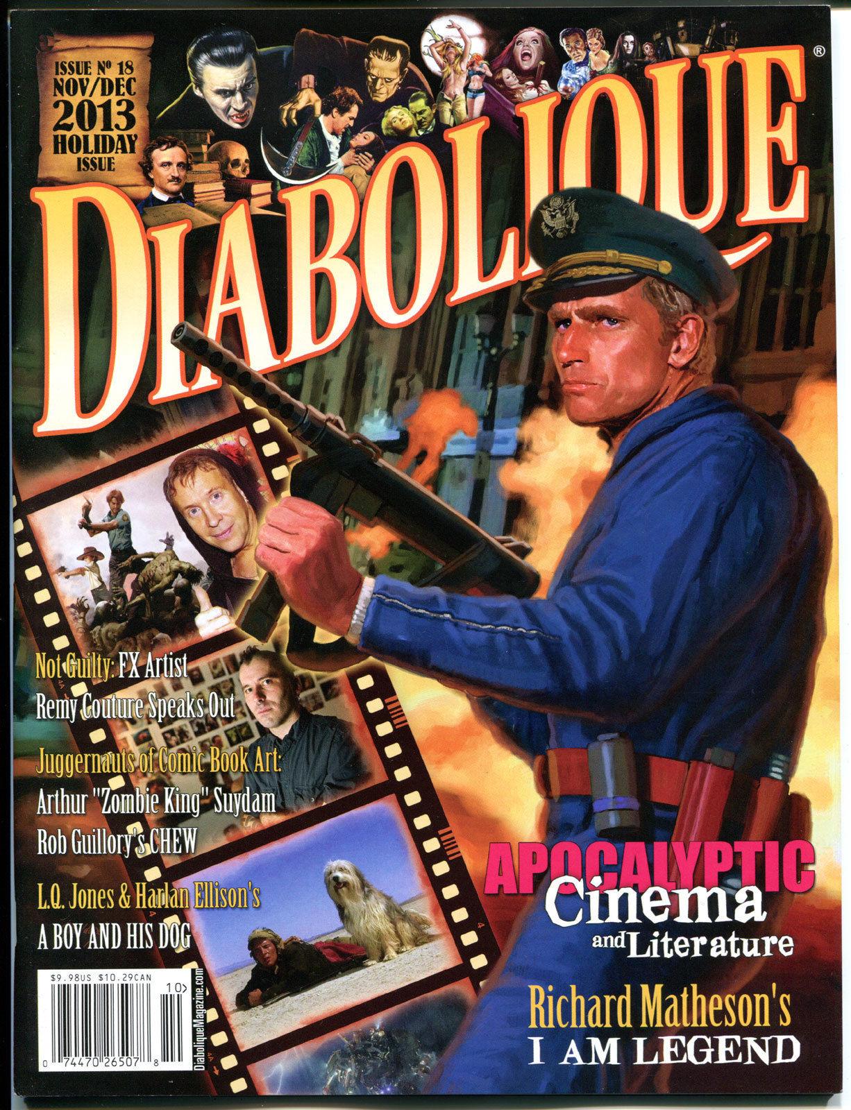 DIABOLIQUE #18, NM, Charlton Heston, Arthur Suydam, Apocalyptic, Holiday issue