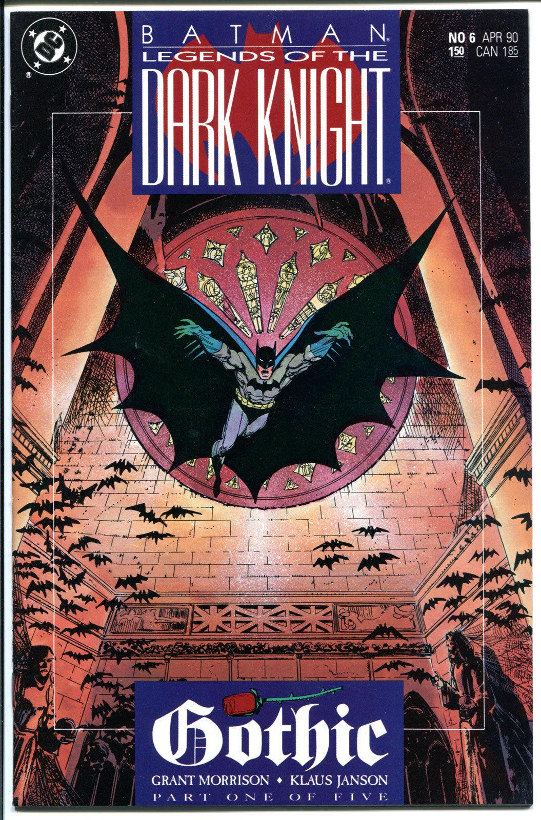 BATMAN: LEGENDS OF THE DARK KNIGHT #6, Gothic, 1989,NM+